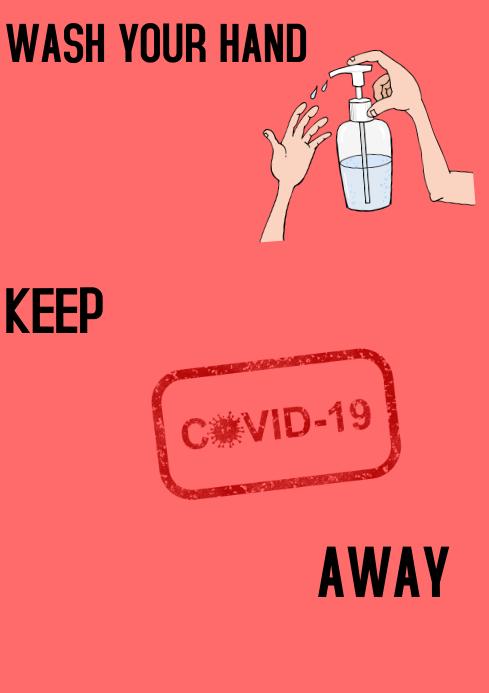 Covid-19 A1 template