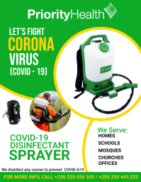 COVID-19 Disinfectant Spraying Service
