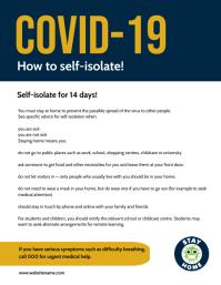 COVID-19 HELPLINE FLYER