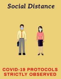 Covid-19 Prevention Flyer template