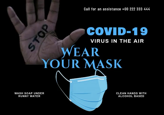 Covid-19 Protection 00 A2 template