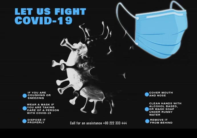 Covid-19 Protection 22 A2 template