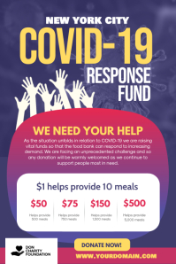 Covid-19 Response Fund Fundraising
