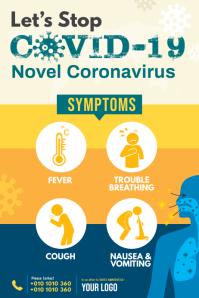 COVID-19 Symptoms Poster
