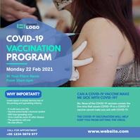 Covid-19 Vaccination Program Persegi (1:1) template