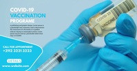 Covid-19 Vaccination Program รูปภาพที่แบ่งปันบน Facebook template