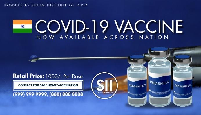 Covid-19 Vaccine Blog Post Template ส่วนหัวบล็อก