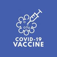 COVID-19 Vaccine Logotyp template