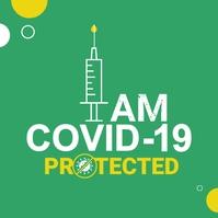 Covid-19 Vaccine Template Logo