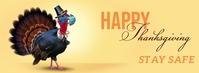 Covid Thanksgiving Turkey Facebook Banner