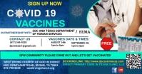 COVID Vaccine Изображение, которым поделились на Facebook template