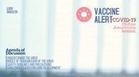 Covid vaccine Digitale Vertoning (16:9) template