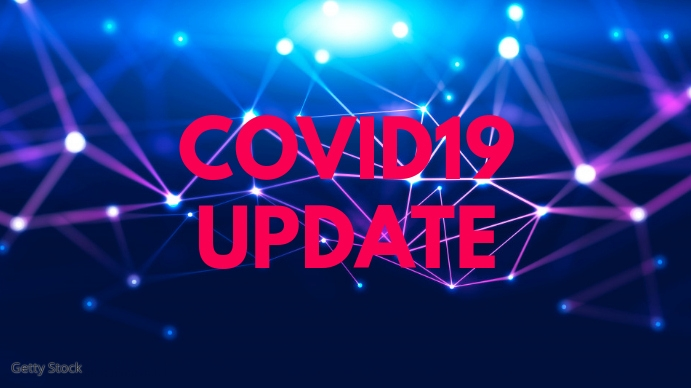 Covid19 corona Update News Info Banner Header Digital Display (16:9) template