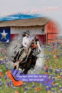 Cowgirl Party/Western/Texas/Rustic/Birthday