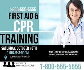 CPR Stort rektangel template