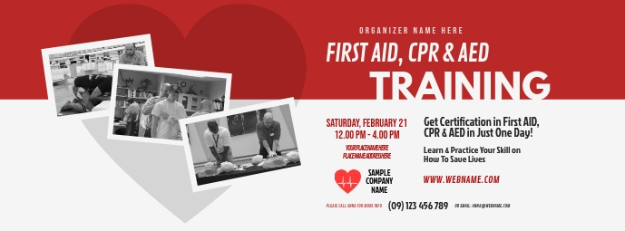 CPR Training Facebook Cover Photo