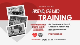 CPR Training Twitter Shared Image template