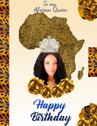 CR_Happy Birthday African Queen