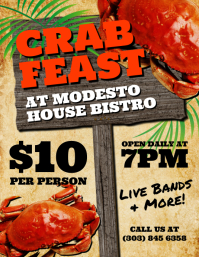 Crab Feast Flyer