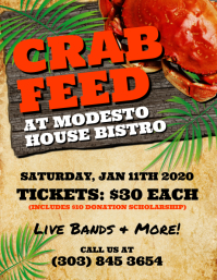 Crab Feed Flyer