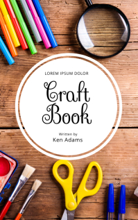 Craft DIY Book Cover Template Kindle Omslag
