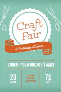 Craft Event Flyer Template