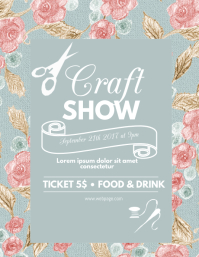 Craft Event Flyer Template