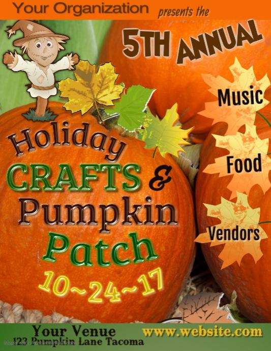 Craft Fair Poster Template