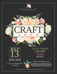 CRAFT SHOW ใบปลิว (US Letter) template