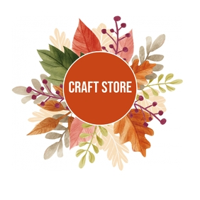 Craft Store Logo template