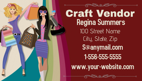 Craft Vendor Business Card