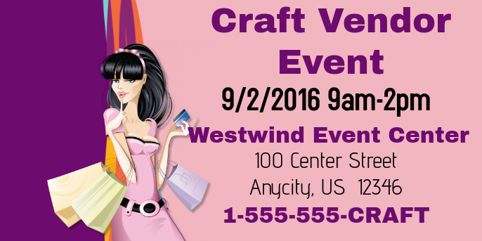 Craft Vendor Event