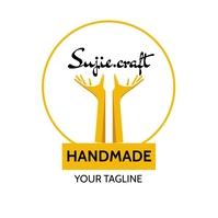 Craft workshop/company logo Логотип template