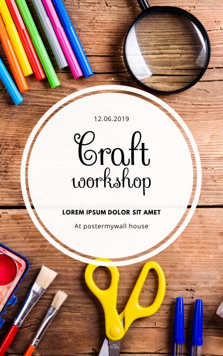 Craft workshop Event Flyer Template