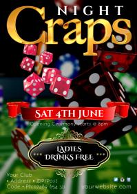 Craps Night Poster