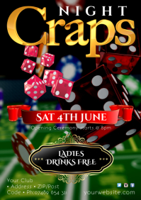 Craps Night Poster