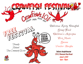 Crawfish Festival Flyer