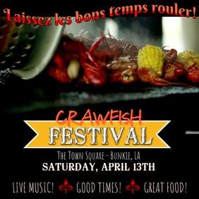 Crawfish Festival Social Media Post