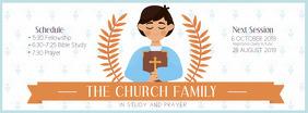 Cream Church Bible Study Facebook Header