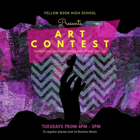 Creative Art Contest Video Design