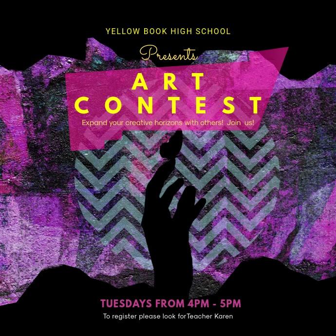 Creative Art Contest Video Design