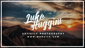 creative artistic photography business card