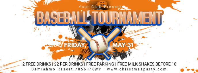 Creative Baseball Banner