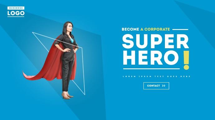 Creative Business Corporate Digital Ad Digitale Vertoning (16:9) template