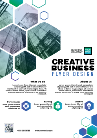 Creative Business flyer A4 template