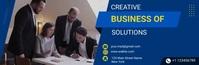 creative business video email header template En-tête d'e-mail