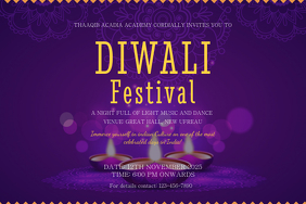 Creative Diwali Event Poster Template