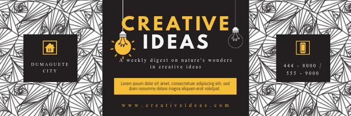 Creative Email Digest Email Header template