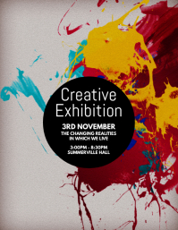Creative Exhibition Flyer