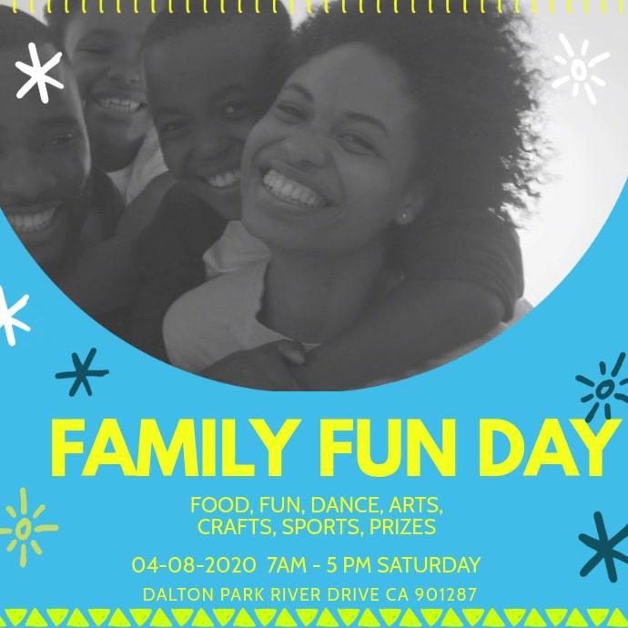 Creative Family Day Invitation Video
